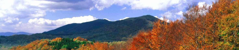 Fotografia szczytów z Przełęczy Wyżniańskiej