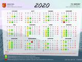 harmonogram odbioru odpadów komunalnych w 2020 roku