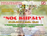 """Plakat - zaproszenie na """"Noc Kupały"""""""